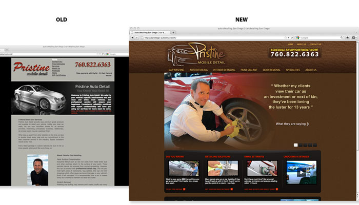 Website Design Sample