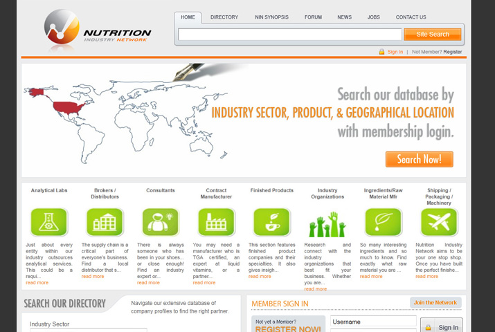 Nutrition Industry Network